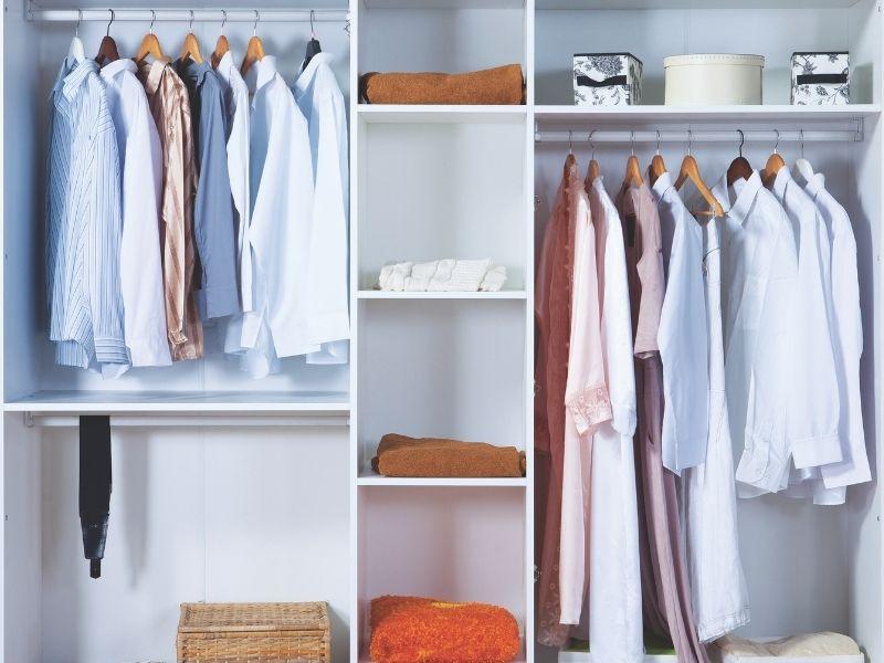 Minder kleding, Minder stress