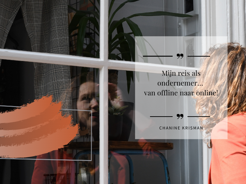 Mijn reis als ondernemer… van offline naar online!